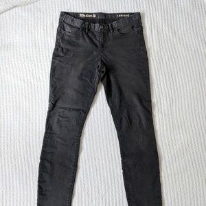 Madewell Black Legging Pants Size 30